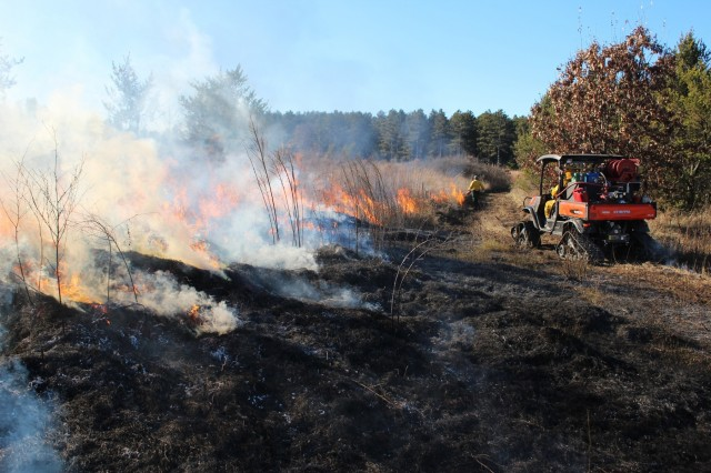 Late-fall prescribed burns help cut wildfire risk, improve habitat