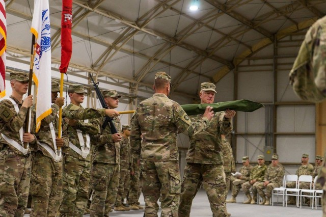 420th Engineer Brigade passes torch to 35th Engineer Brigade