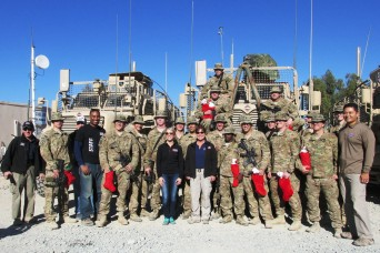 U.S. troops serving overseas during holidays make a sacrifice for peace, security
