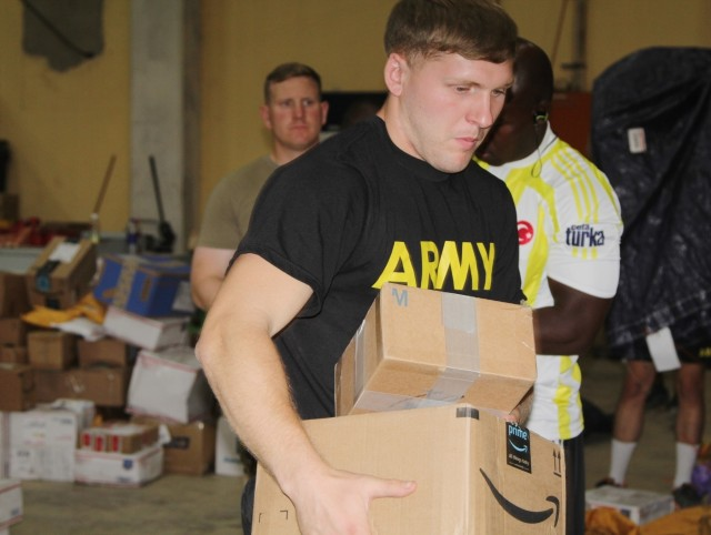 Holiday Mail Arrives for Warriors in Cameroon