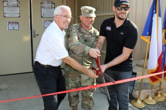 Remodeled USO opens in Kuwait