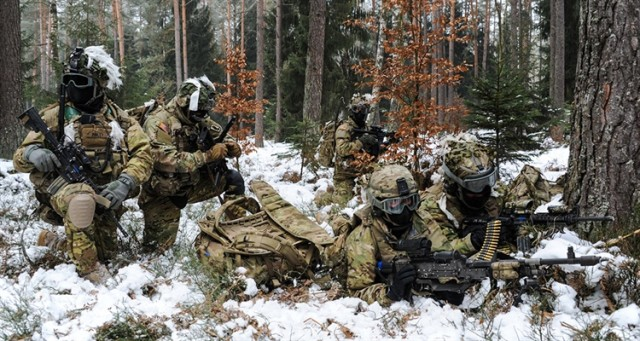 Winter Weapons Handling