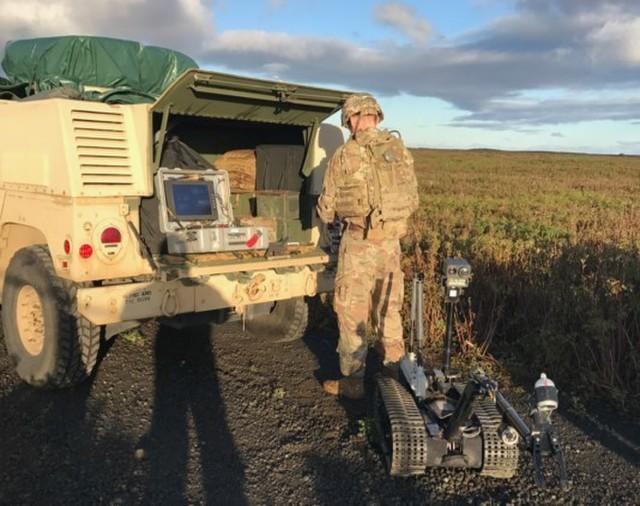 Ordnance companies train at Northern Challenge