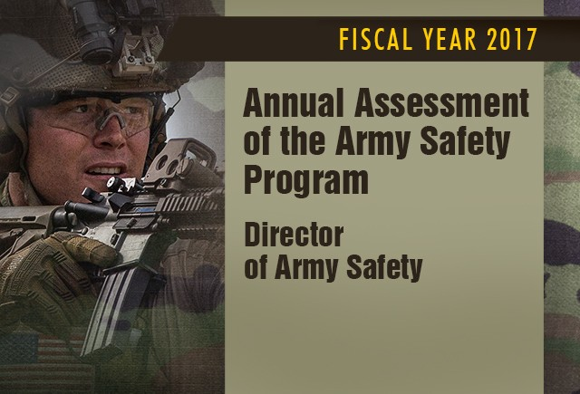 Army releases annual safety assessment