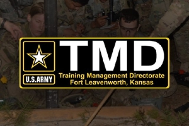 The Training Management Directorate (TMD), the Army's proponent for training management, is working with Army agencies and commands to support objective training and readiness reporting requirements, and all aspects of training management.