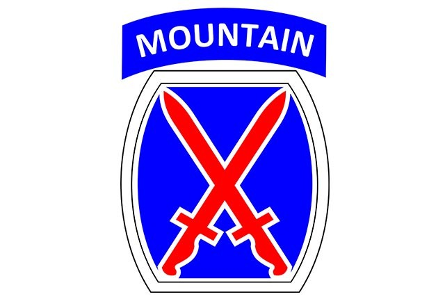 10th Mountain Division Shoulder Sleeve Insignia