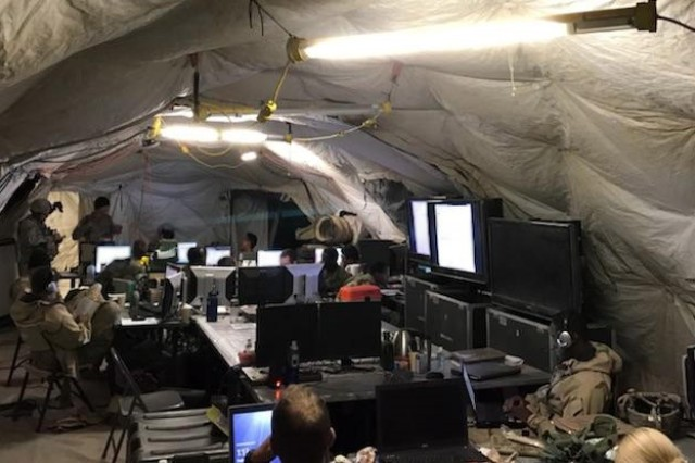 The 1st Armored Brigade Combat Team, 3rd Infantry Division successfully piloted the Army's National Security Agency-accredited Secure Wi-Fi capability for a second time during decisive action training at the National Training Center at Fort Irwin, California, in November 2017.