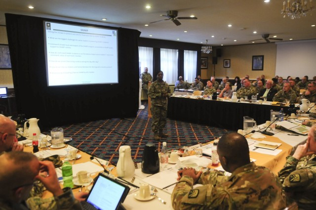 21st TSC self assesses at Senior Leader Forum