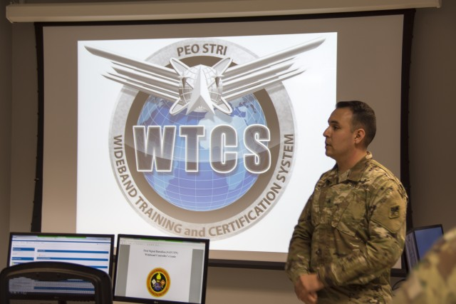 Army opens first-of-its-kind training system for wideband satellite operators