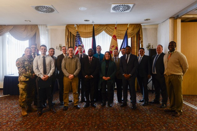 Eleven  transitioning service members graduated last month from the Department of Veterans Affairs' first overseas Warrior Transition Advancement Course at U.S. Army Garrison Bavaria. Along with certificates came well-earned job offers with the VA.