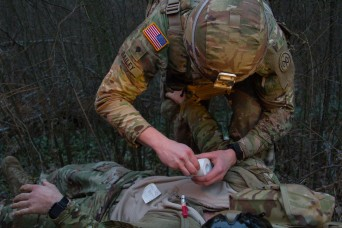 New York Army National Guard Soldiers Deployed to Ukraine Conduct MASCAL Exercise