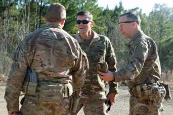 Uscentcom Commander Gen Votel Visits 1st Sfab During Jrtc