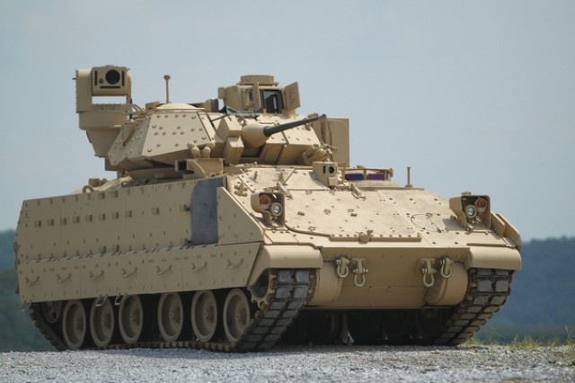 Project Manager Mission Command established agreements with the Communications-Electronics Research, Development and Engineering Center  to upgrade about 500 Bradley Fighting Vehicles in September 2017 as part the Army's unit set fielding schedule for 3rd BCT, 1st Armored Division at Fort Bliss, Texas.