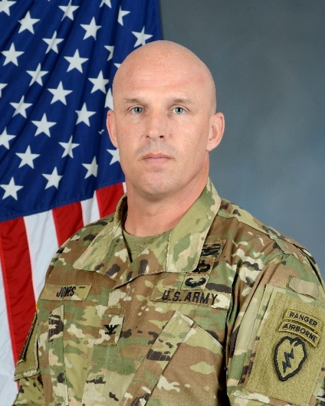 BDE Commander Colonel Jason J. Jones