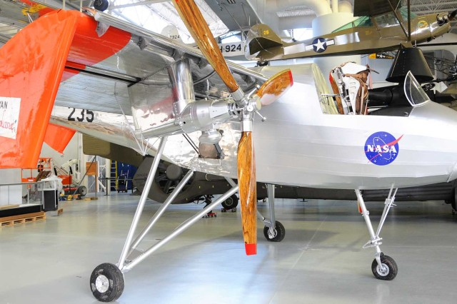 The Ryan VZ-3 Vertiplane is the only one of its kind in existence and sits in the U.S. Army Aviation Museum. The aircraft employed a deflected slipstream technology to achieve near vertical-lift flight, capable of takeoff with about a 20-foot rollout.