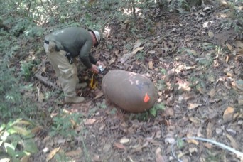 2nd Chemical Battalion team destroys WWII munitions