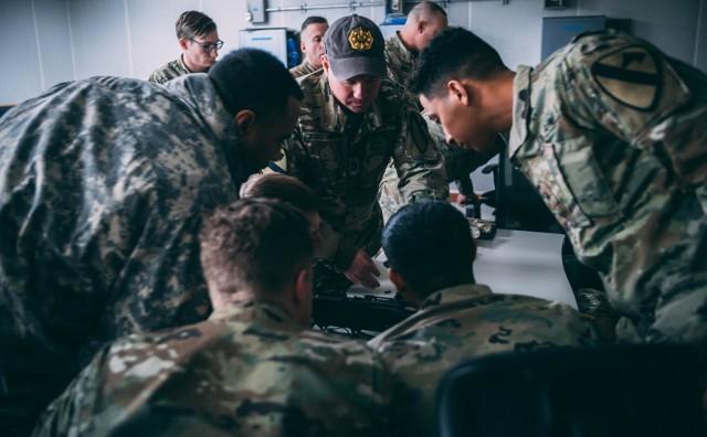 Black Jack brigade conducts Sabot Academy