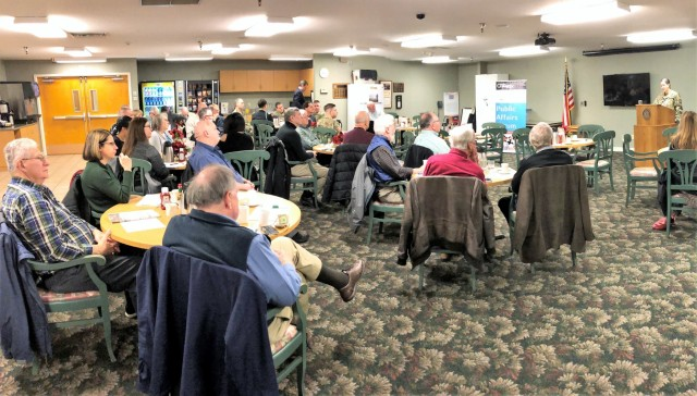 JBLM commander speaks at Gig Harbor chamber event