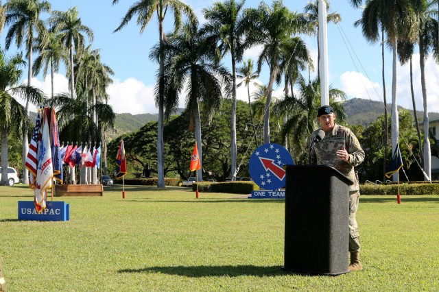 USARPAC says farewell to Deputy Commanding General