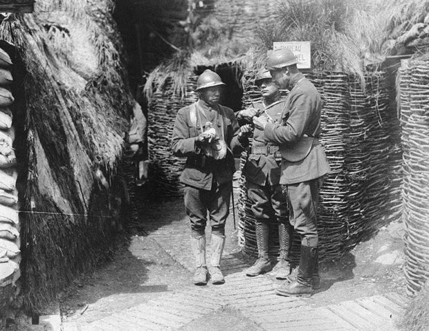 trench warfare and african americans African-american ny national guard troops had to the african american regiment was after learning valuable lessons in trench warfare from.