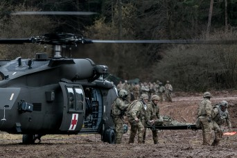 'No room for excuses': Army medics use Allied Spirit training to save lives in combat