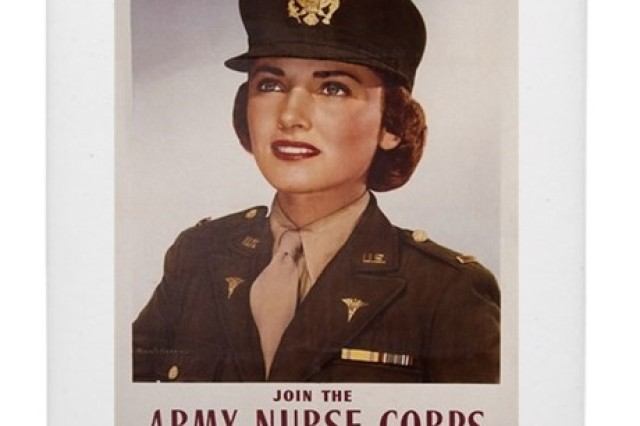 1901 Poster for Army Nurse Corps