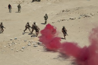 Facing the inferno: Soldiers forge partnership with Oman in combat assault training exercise