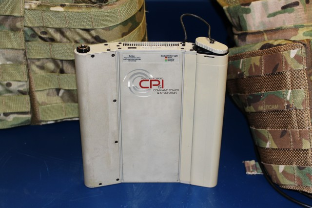 CERDEC's conformal fuel cell is an alternative hybrid power source that provides a wearable single power source for integrated Soldier systems, such as Nett Warrior.  Engineers designed the hybrid fuel cell for missions that extend beyond 24 hours.