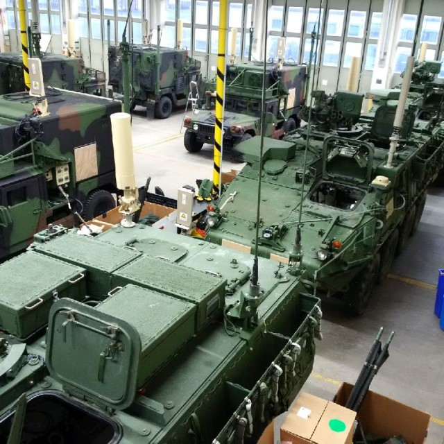 U.S. Army's new electronic warfare capabilities hit the ground in Europe