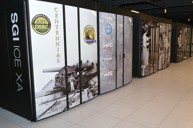 The Centennial supercomputer is an upgrade for the U.S. Army research Laboratory's DOD Supercomputing Resource Center, and is part of a modernization program to bring new capabilities to Army researchers.