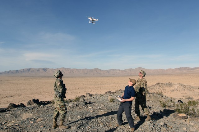 ECSD provides anti-UAS capability at NTC