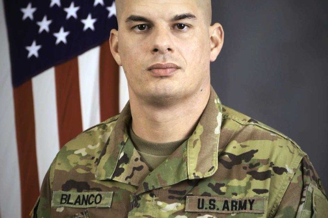 Sgt. 1st Class Jason Blanco 3rd Battalion, 6th Air Defense Artillery