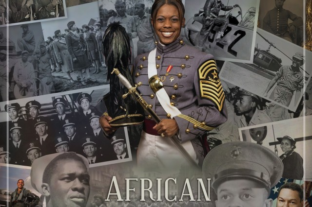 This year, the Defense Equal Opportunity Management Institute's poster for Black History Month showcases notable individuals who have served in the U.S. military for reflection throughout this month.