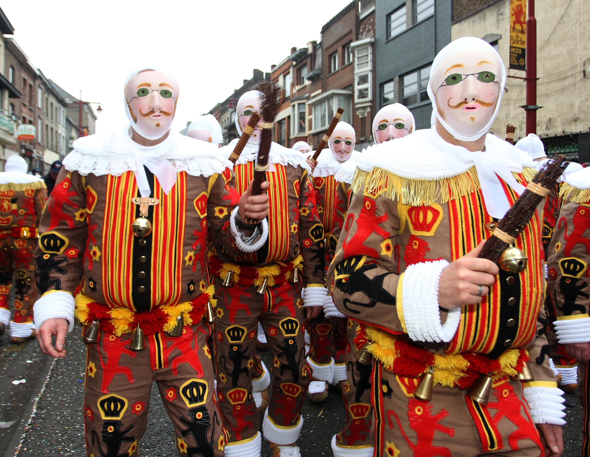 Discover Belgium: The Carnival of Binche   Article   The United States Army