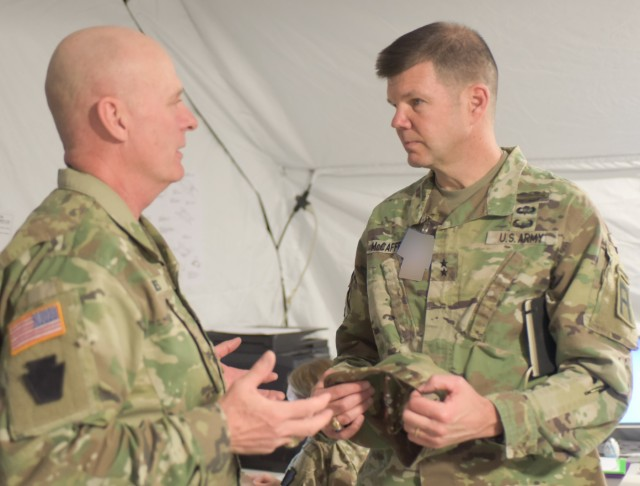 First Army prepares Pa. Guard division for Middle East deployment