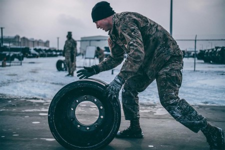 Battalion tank crews competed in the Sullivan Cup qualification event, Jan. 10, 2018, at U.S. Army Garrison Humphreys to identify the best, most prepared and qualified tank crew to represent the Blackjack brigade at the Sullivan Cup in May 2018.
