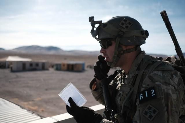 'Raider' Brigade takes on NTC