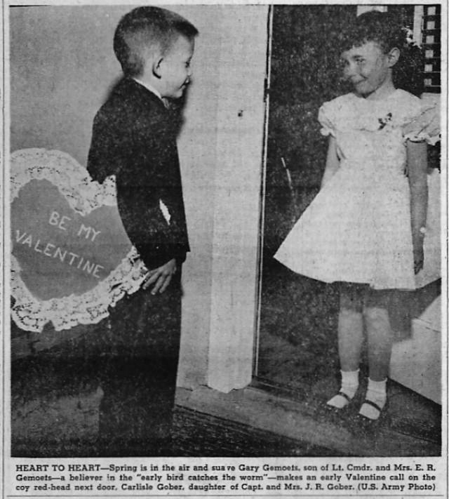 Valentine's Day 1958