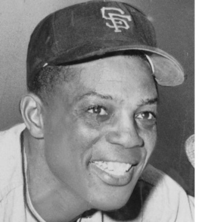 Baseball Legend Willie Mays