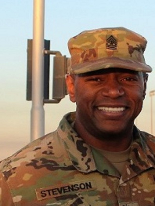 Sgt. Maj. Marc Stevenson