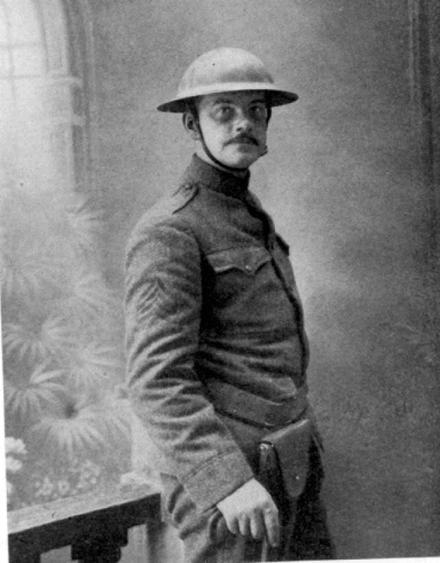 Poet and Soldier Joyce Kilmer