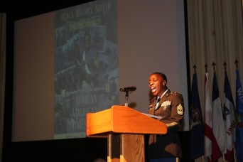 Camp Zama speaker shares family history, highlights 'African Americans in Times of War'