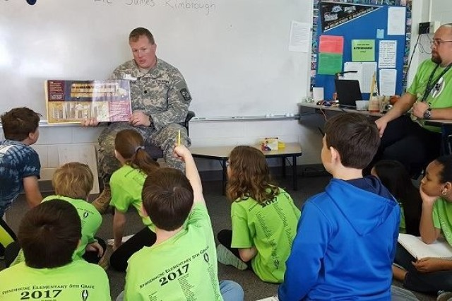 For four years,  Lt. Col. Jimmy Kimbrough was the Professor of Military Science for the Army ROTC program at the College of William and Mary and Christopher Newport University in Virginia.