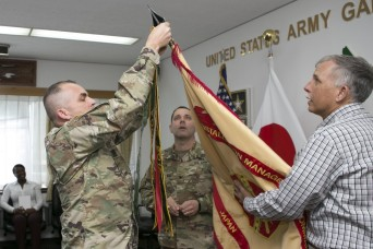 US Army Garrison Japan receives Safety Excellence Award Streamer