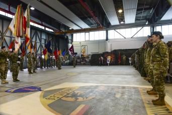USAREUR bids farewell to CSM Lyon