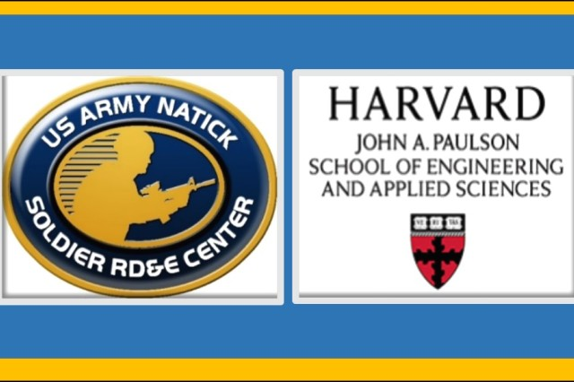 The U.S. Army Natick Soldier Research, Development and Engineering Center (NSRDEC) and Harvard University and the Harvard John A. Paulson School of Engineering and Applied Sciences (Harvard Engineering), signed a Master Cooperative Research and Development Agreement, or CRADA, designed to leverage the respective expertise and resources of both organizations, streamline collaborations, and strengthen their relationship in order to engage with one another in diverse areas of mutual interest.