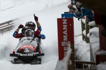 Army officer gunning for 2nd Olympic bobsled medal
