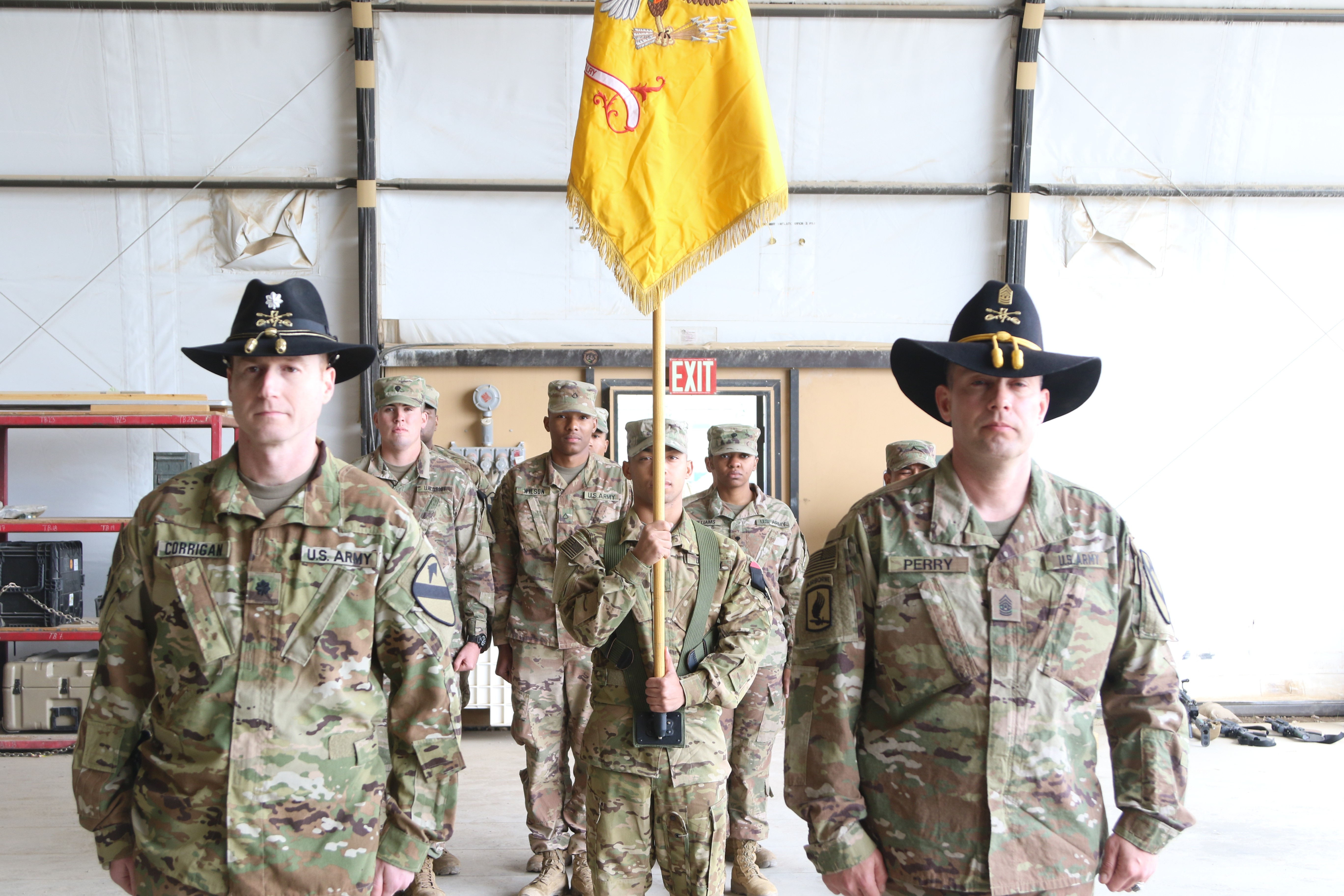 7-17TH Cavalry Regiment takes the reins   Article   The
