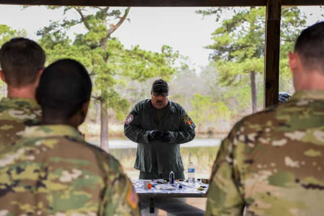 South Carolina National Guard Civil Support Team conducts multi-agency micro lab training in West Columbia, South Carolina on Feb. 22, 2018.