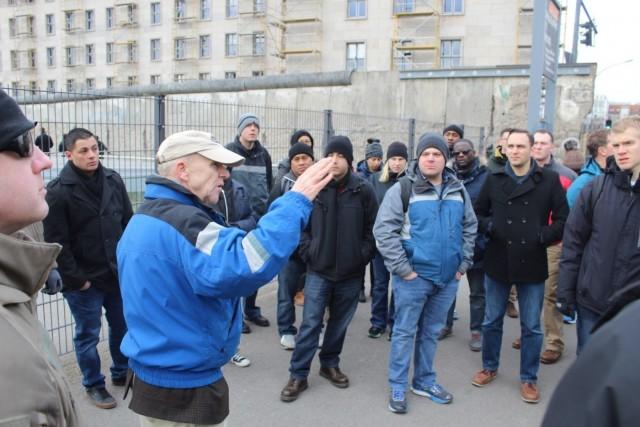 Knights Brigade develops leaders through Berlin staff ride